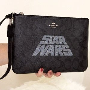 Coach Bags - 💃Star Wars X Coach Gallery Pouch Wristlet  Clutch